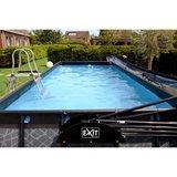 EXIT Stone zwembad 540x250x100cm met filterpomp_
