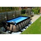 EXIT Wood zwembad 400x200x100cm met zandfilterpomp_