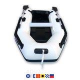 Aquaparx 230PRO MKIII Wit Rubberboot_