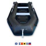 Aquaparx 280PRO MKIII Zwart Rubberboot_