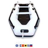 Aquaparx 330PRO MKIII Wit Rubberboot _