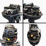 Aquaparx 15PK Benzine Buitenboordmotor_