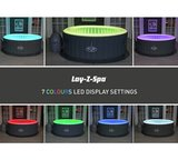 Lay-Z Spa Bali 2-4 Persoons Opblaasbare Spa met LED_