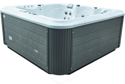 Infinity Spa Vierkant Ledro 5-Persoons Jacuzzi