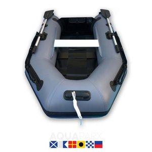 Aquaparx 230PRO MKIII Grijs Rubberboot