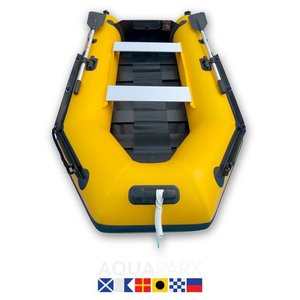 Aquaparx 280PRO MKII Geel Rubberboot